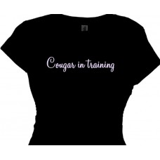 Cougar in Training | Cougar Tee shirts